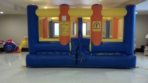 Bounce House in our church basement